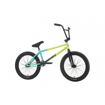 "SUNDAY STREET SWEEPER 20.75"" BMX BIKE MATTE NOTEPAD YELLOW RHD (Jake Seeley Model) 2020"