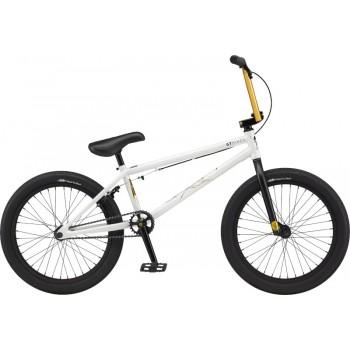 """GT TEAM CONWAY 21"""" BMX BIKE WHITE 2021"""