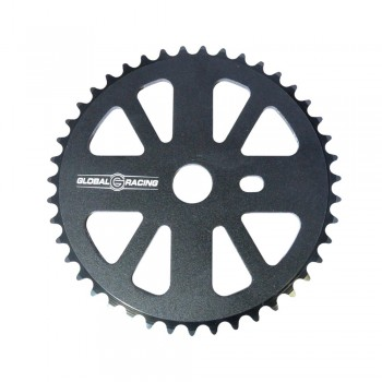 GLOBAL RACING ROCKET V2 5 PT SPROCKET BLACK