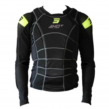 SHOT BODY PROTECTOR ROGUE 2.0 BLACK ADULT