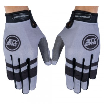 STAY STRONG GLOVES CHEVRON GREY