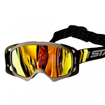 STAY STRONG GOGGLES RACE DVSN BLACK/ GREY