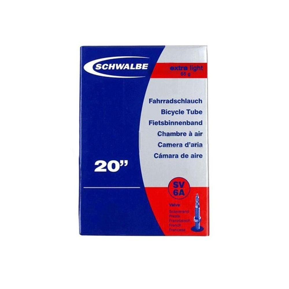 SCHWALBE TUBE - 20'' x 1.60/2.50 - XTRALIGHT - PRESTA - BOX