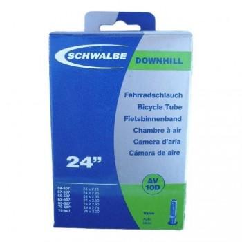 SCHWALBE TUBE - 24'' x 2.10/3.00 - DH - SCHRADER - BOX