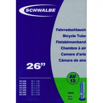 SCHWALBE TUBE - 26'' x 1.50/2.50 - SCHRADER - BOX