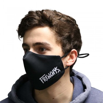 FRENCHYS FACE MASK LOGO BLACK