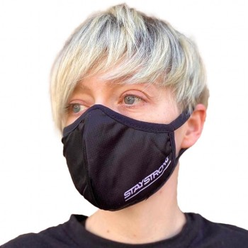 STAYSTRONG FACE MASK BLACK