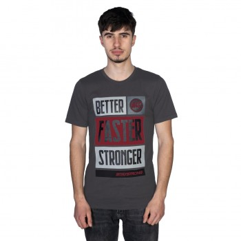STAYSTRONG T-SHIRT BFS CHARCOAL