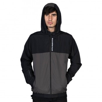 JACKET STAYSTRONG CUT OFF VERTICAL BLACK