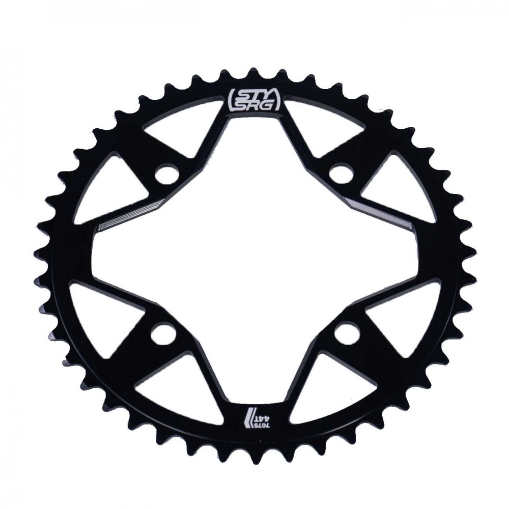 STAY STRONG 4 BOLTS SPROCKET BLACK