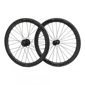 STAY STRONG CARBON DISC REACTIV 20 x 1-3/8 WHEELSET BLACK