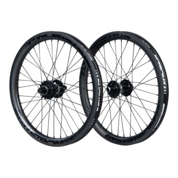 STAY STRONG CARBON DISC REACTIV 20 x 1.75 WHEELSET BLACK