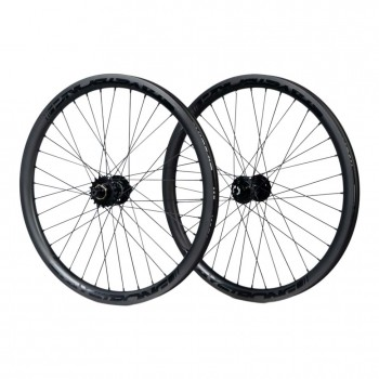 STAY STRONG CARBON DISC REACTIV 24 x 1.75 WHEELSET BLACK