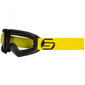 SHOT ASSAULT SYMBOL GOGGLE BLACK YELLOW MATT