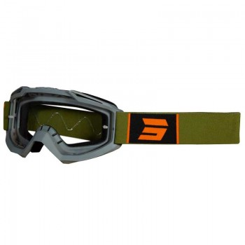 SHOT ASSAULT SYMBOL GOGGLE GREY KAKI MATT