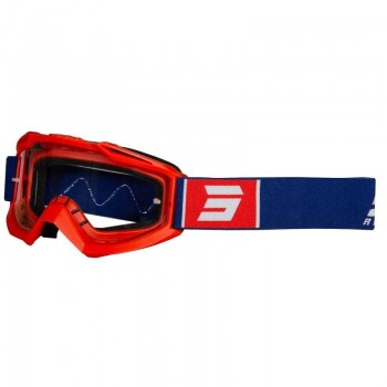 SHOT ASSAULT SYMBOL GOGGLE NAVY RED GLOSSY