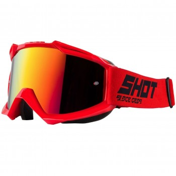 SHOT IRIS SOLID GOGGLE RED