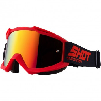 SHOT IRIS SOLID GOGGLE RED MATT