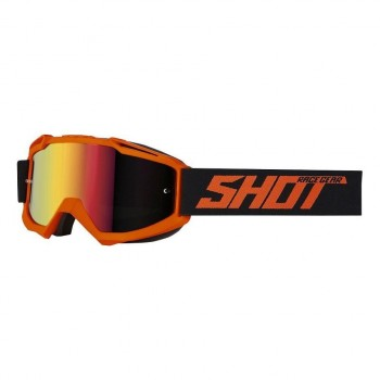 SHOT IRIS SOLID GOGGLE NEON ORANGE MATT
