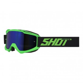 SHOT IRIS GOGGLE NEON GREEN MATT