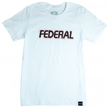T-SHIRT FEDERAL DOUBLE VISION WHITE