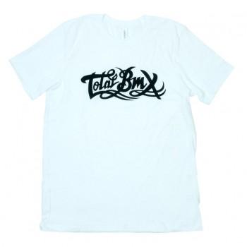 TOTAL BMX ORIGINAL LOGO T-SHIRT WHITE
