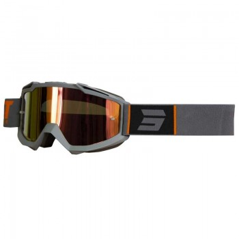 SHOT IRIS FASHION GOGGLE GREY ORANGE MATT