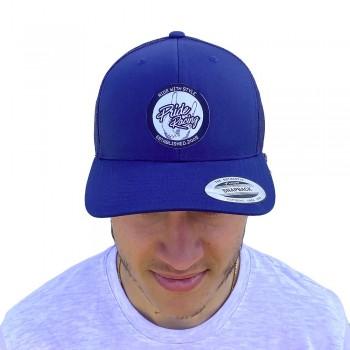 PRIDE CAP TRUCKER PATCH MESH NAVY BLUE