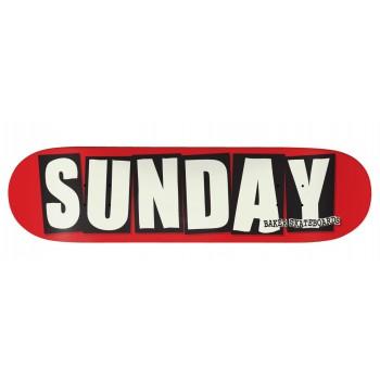 SUNDAY x BAKER SKATEDECK LTD EDITION