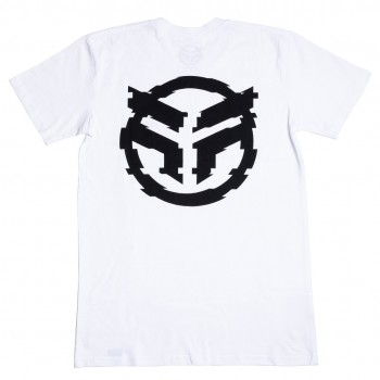 FEDERAL GLITCHED T-SHIRT WHITE