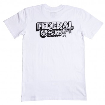 FEDERAL RACER T-SHIRT WHITE