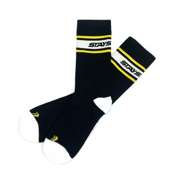 CHAUSSETTES STAYSTRONG STRIPE BLACK