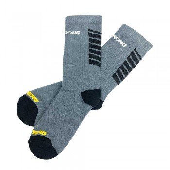 CHAUSSETTES STAYSTRONG CHEVRON GREY