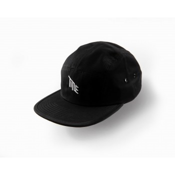 TITLE 5 PANEL CAP BLACK