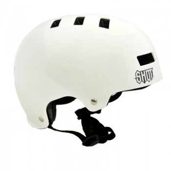 CASQUE SHOT SOLID WHITE