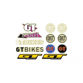 GT BIKES STICKERS PACK