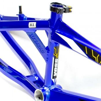 YESS BMX – FACTORY FRAME INTENSE BLUE