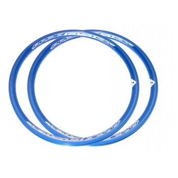PAIRE DE JANTE PRIDE RIVAL EXP BLUE