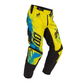 PANTALON SHOT DEVO CAPTURE NEON YELLOW/BLUE