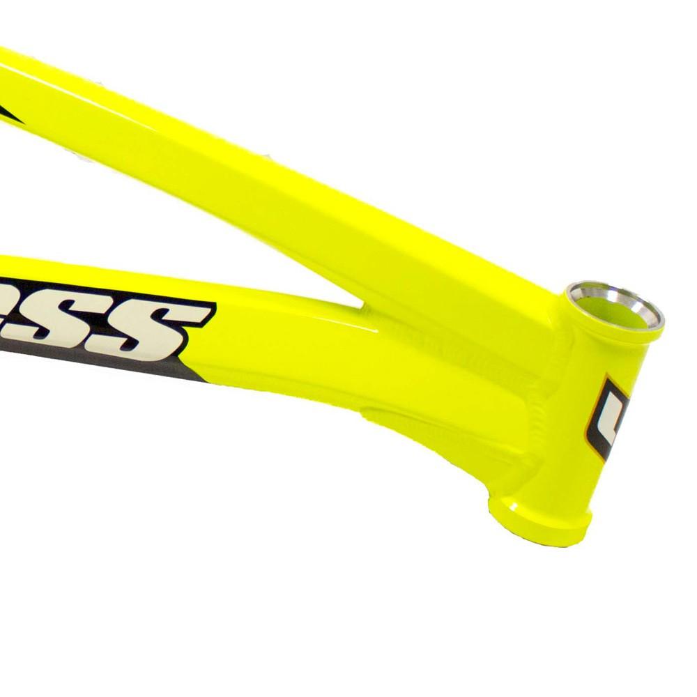 YESS BMX – FACTORY FRAME NEON YELLOW
