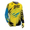 MAILLOT SHOT DEVO CAPTURE KID NEON YELLOW/BLUE
