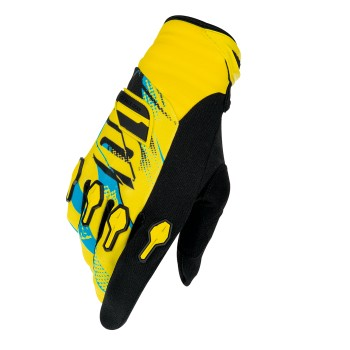 GANTS SHOT DEVO CAPTURE KID YELLOW/BLUE