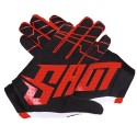 GANTS SHOT SKIN RED