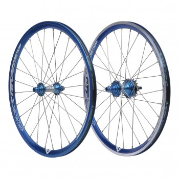 GLOBAL RACING VECTOR X WHEELSET BLACK