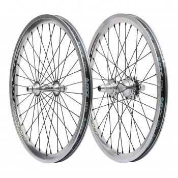 PAIRE DE ROUES PRIDE RACING RIVAL PRO POLISHED