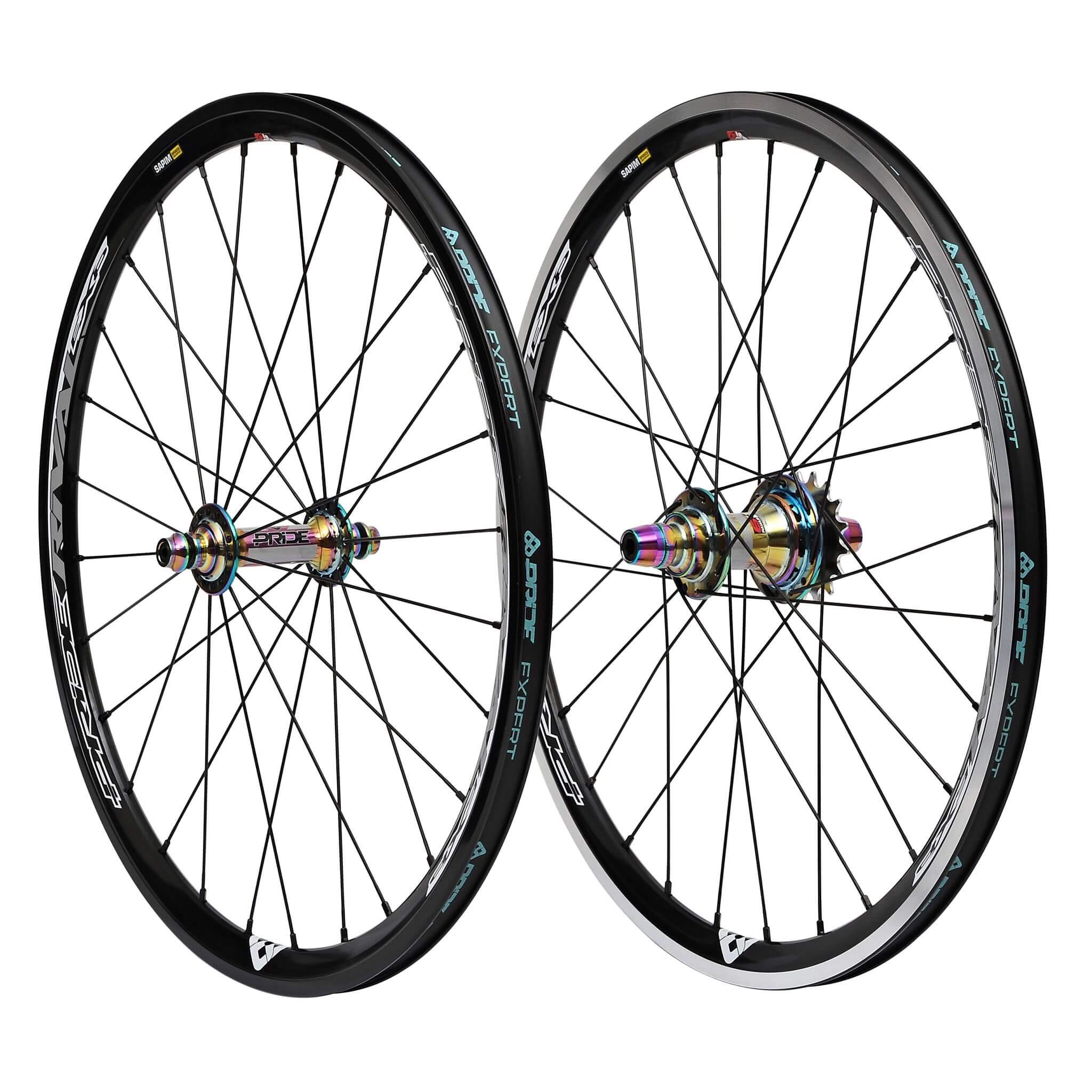 roue bmx oil slick