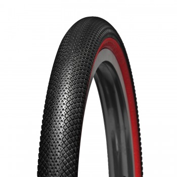 PNEU VEE TIRE SPEEDSTER BLACK / RED WALL