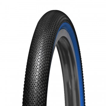 PNEU VEE TIRE SPEEDSTER BLACK / BLUE WALL