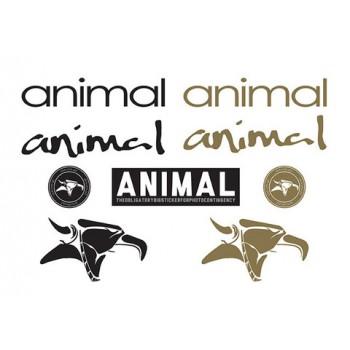 PACK AUTOCOLLANTS ANIMAL ASSORTIS