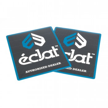STICKER ECLAT AUTHORIZED DEALER
